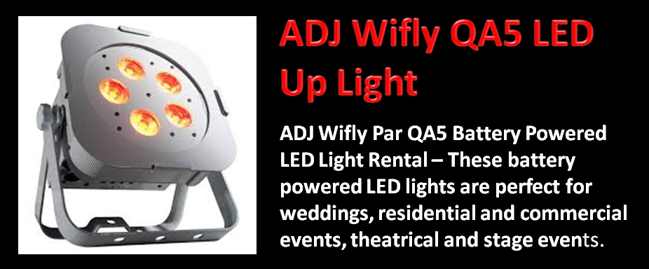 ADJ Wifly QA5 Led Light for Rent