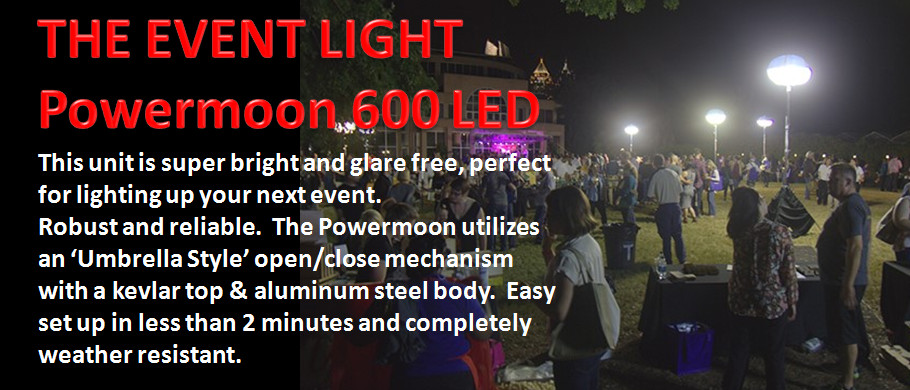Event Light - Powermoon 600 LED -
